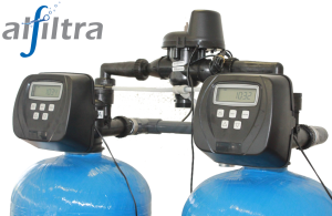 Alfiltra Duplex Wasserenthärtung Steuerventile